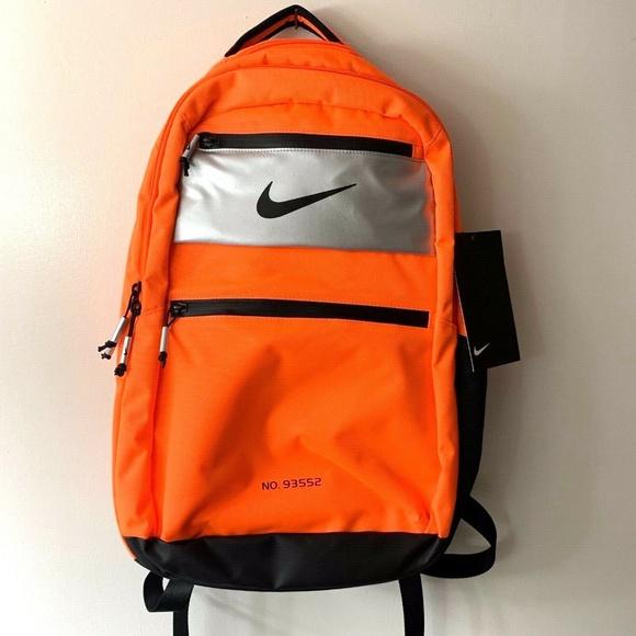 6aaf44f884859 Nike Bags | Pg 3 X Nasa Backpack Orangesilver New | Poshmark